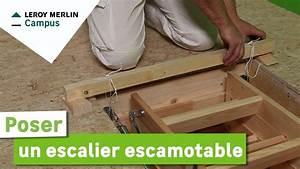 Escalier Escamotable Isolé Leroy Merlin : comment poser un escalier escamotable leroy merlin youtube ~ Melissatoandfro.com Idées de Décoration