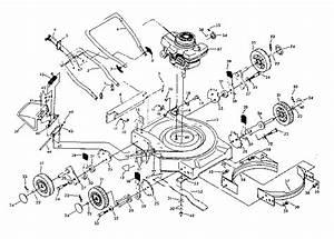 917 378030 Craftsman Rotary Lawn Mower 6 0 Hp Power