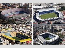 Los estadios de Primera, a vista de pájaro Foto 1 de 21