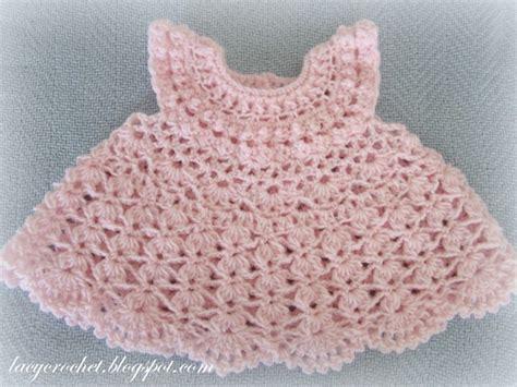 crochet baby dress lacy crochet plumeria baby dress