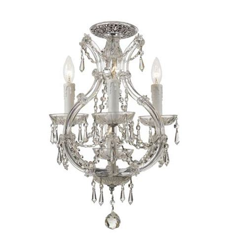 flush mount mini chandelier bellacor