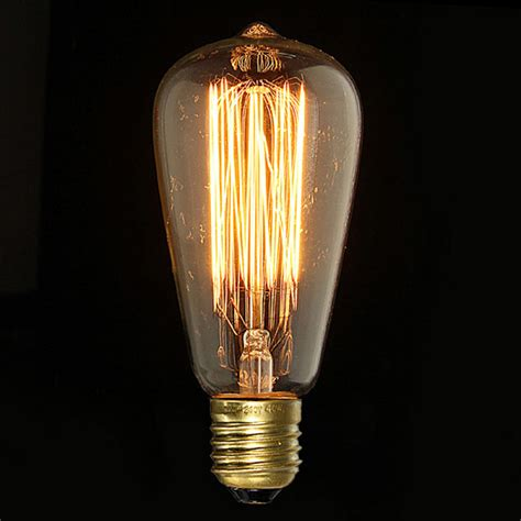 buy e27 40w vintage antique edison incandescent bulb st64