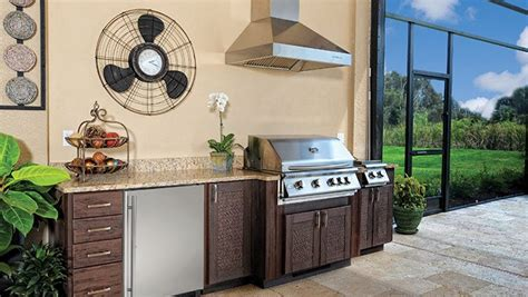 Outdoor Wood Cabinets by Custom Cabinet Choices Backyards N More