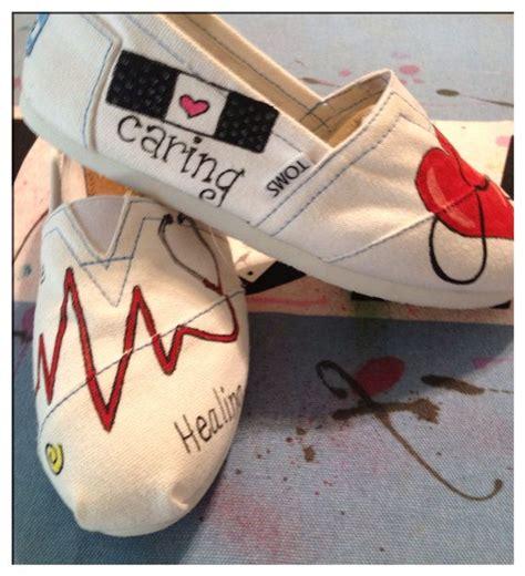 Custom Nursing Toms Shoes