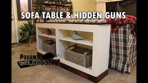 firearms concealment furniture hidden gun storage