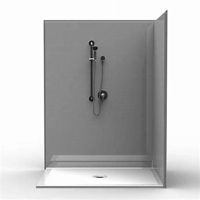 Shower Corner Tile Barrier Piece 48 60