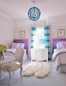 Teppich Für Mädchenzimmer : jugendzimmer gestalten 100 faszinierende ideen m dchenzimmer gestalten 2 betten teppich ~ Sanjose-hotels-ca.com Haus und Dekorationen
