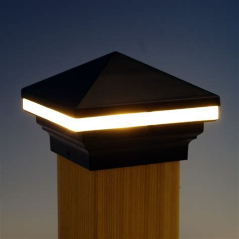 solar deck post lights led light design solar led post lights replacement parts