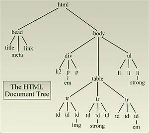 The Html Document Tree