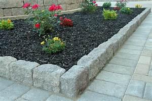 Construct Landscape Stones Edging For Rock Landscaping