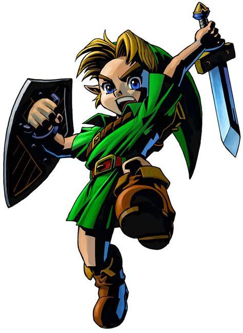 The Legend Of Zelda Majoras Mask 3d Young Link Jump