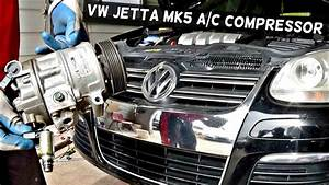 How To Remove The A  C Compressor On Vw Jetta Mk5 Ac