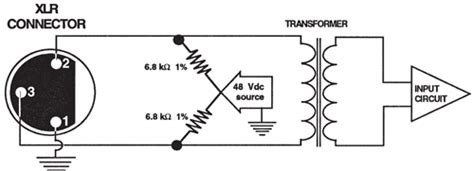 Phantom Power Xlr Wiring Diagram by Key Facets Of Interfacing Microphones With Sound Systems