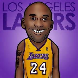 Cartoon Basketball Players NBA