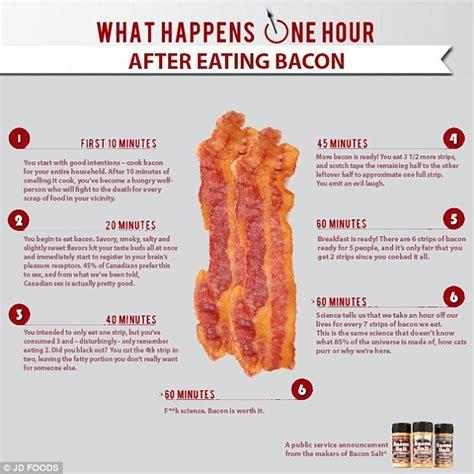 body  eating bacon revealed