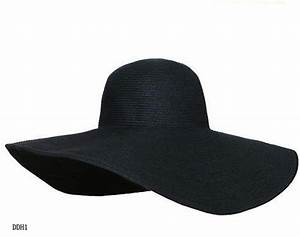 Fashion Womens Wide Large Brim Floppy Summer Beach Sun Hat ...