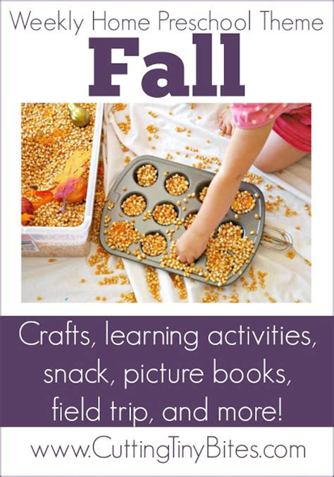 fall theme weekly home preschool what can we do with 449 | Fall Theme Preschool