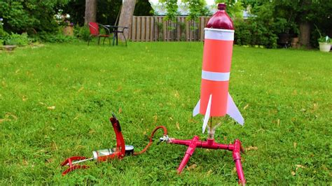 How To Build A Water Pressure Rocket With A Parachute