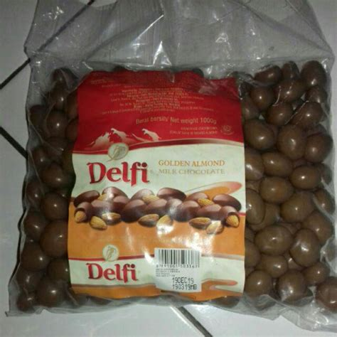 coklat delfi almondmede kemasan kg coklat kiloan