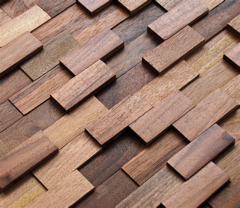wall materials mosaic wood