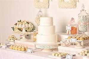 Elegant White Wedding Dessert Buffet - The Sweetest Occasion