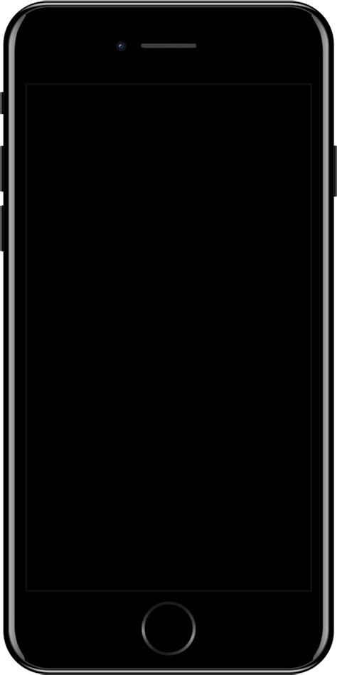 iphone 7 wiki file iphone 7 jet black svg simple