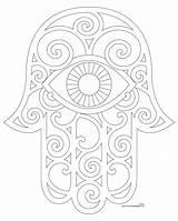 Mano Para Hamsa Bordar Plantillas Articulo Donteatthepaste Patrones Amuleto Es Bordado sketch template
