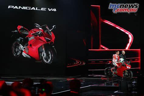 Ducati World Première 2018 Mcnewscomau