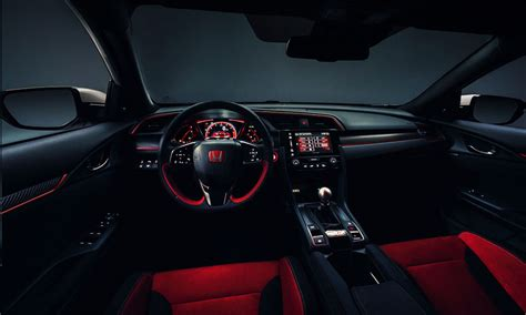 honda civic 2017 interior 2017 honda civic type r interior