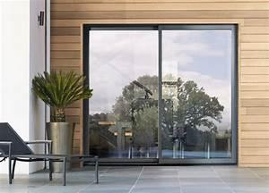 Garage Millet : baie coulissante 2 rails baie vitree aluminium k line ~ Gottalentnigeria.com Avis de Voitures