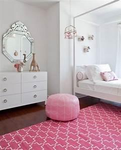 Pink Girl's Room Design In Bohemian Style   Kidsomania