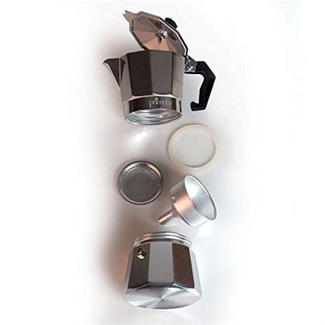 L Or Espresso Cups Aluminium by Primula 12 Cup Aluminum Stovetop Espresso Maker Buy