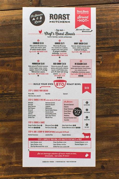menu design hacks restaurants     order