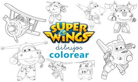 Dibujos Para Colorear De Super Wings