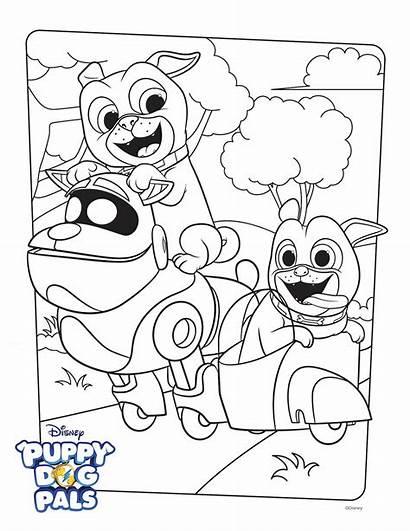 Disney Pals Puppy Coloring Dog Activity Bingo