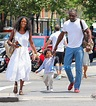Idris Elba Walks The City With His Son Winston And A ...