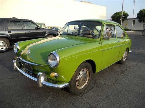 1968 Volkswagen Type-3 Fastback After
