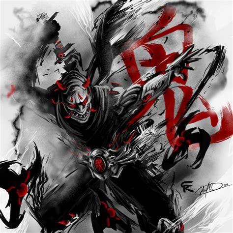 Oni Genji By Gscratcher On Deviantart Promotional Overwatch Hero Skin From The Nexus Challenge