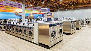 Ocean Influences Modern Laundromat