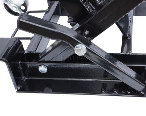 Foxhunter 1500lb Hydraulic Motorcycle Motor Bike Quad Lift