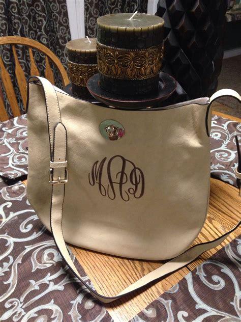 monogrammed purse beige carlton monogrammed purses purses bags