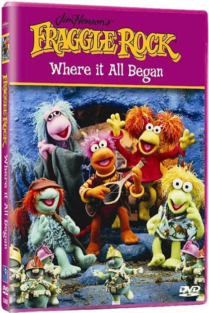 barnes and noble rock fraggle rock where it all began 45986258014 dvd