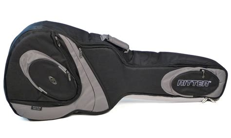 ritter housse guitare classique 4 4 classic 700 black steel grey rcg700 9 c cg700cbst