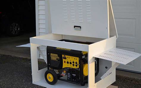 Storage Shed For Portable Generator by How To Store A Portable Generator Safely Generatorgrid
