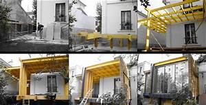 Extension Maison Ancienne : extension bois toit plat photos d 39 une extension de ~ Louise-bijoux.com Idées de Décoration