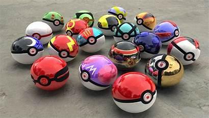 Pokeball Pokemon Backgrounds Ball Pokeballs Charger Poke