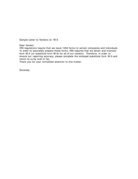 request letter sample irs cover