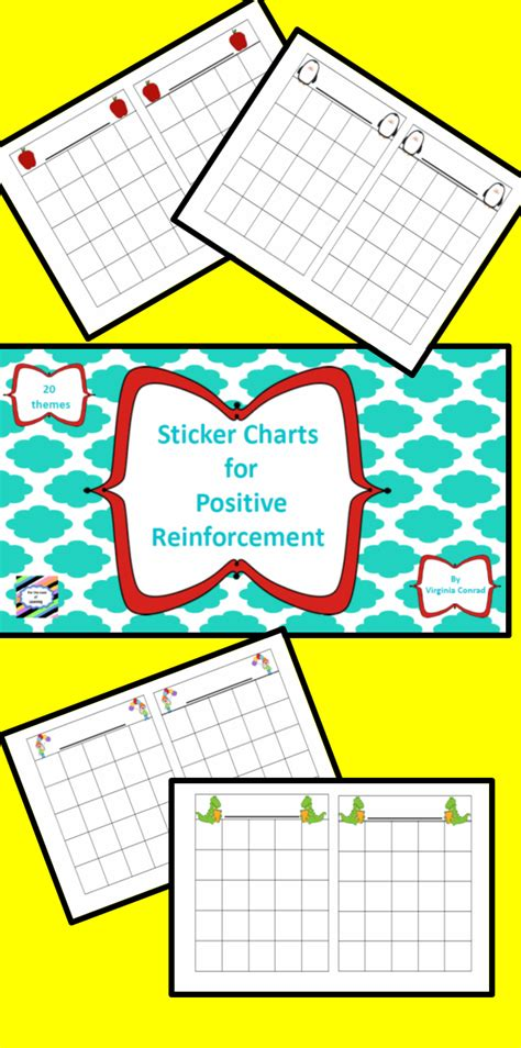 sticker charts for positive reinforcement 2 teach 702 | cda073fe9709a718734b23dd0adcd93c