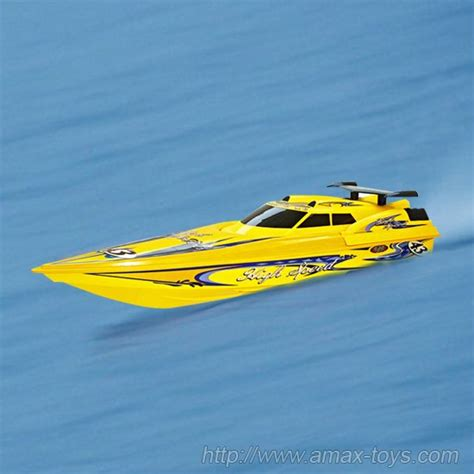 Speed Boat Length by Rs 6033 1 12 Rc Speed Boat With 45 Inch Length Water