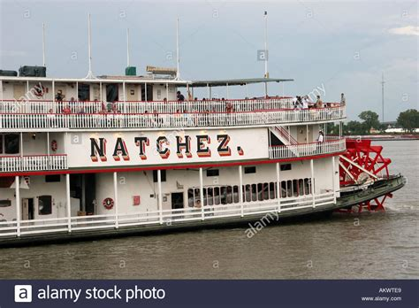 Steamboat Natchez by Steamboat Natchez On The Mississippi River New Orleans